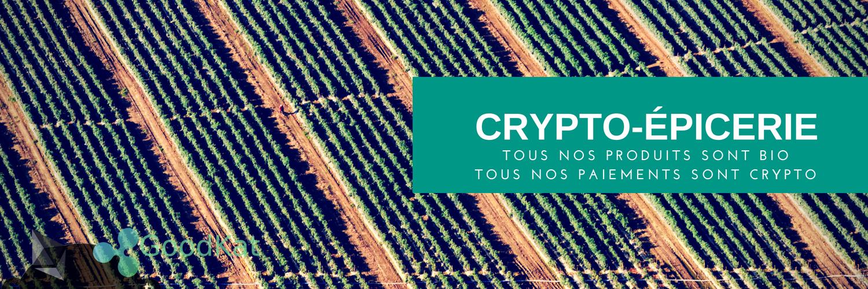 Qui n'a jamais rêvé de se faire livrer ses courses achetées en cryptomonnaies ?